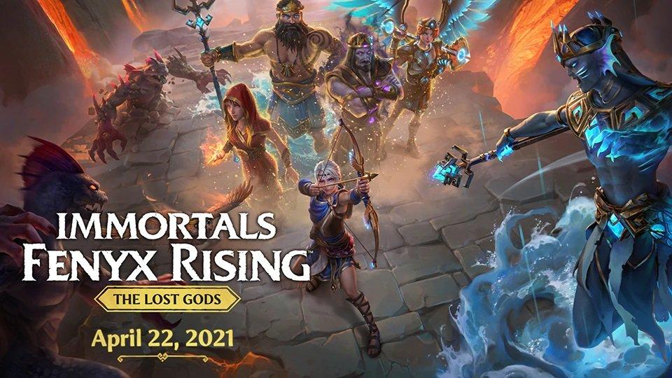 Třetí DLC Immortals Fenyx Rising
