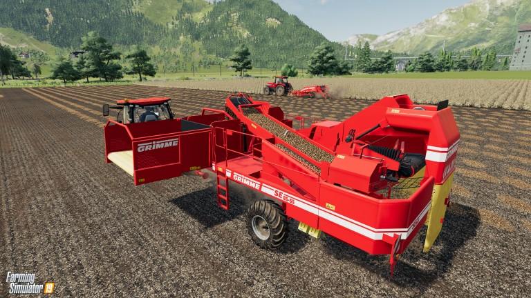 Farming Simulator 19 GRIMME